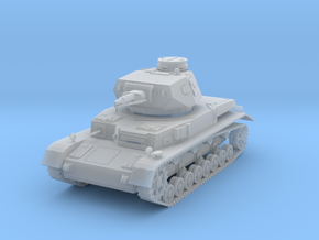 PV150B Pzkw IVD Medium Tank (1/100) in Frosted Ultra Detail
