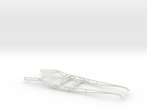 32 Tubular Frame 1/8 scale in White Strong & Flexible