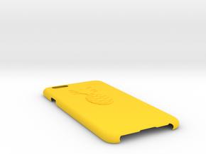IPhone 6 3d Printed Phone Case - Slim Pineapple in Yellow Processed Versatile Plastic