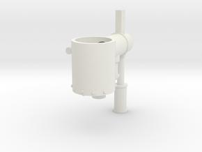 Bachmann Boiler V12 in White Natural Versatile Plastic