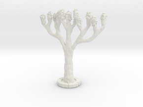 HONA01 Tree in White Natural Versatile Plastic