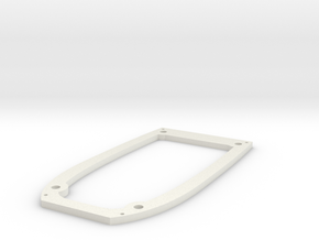 Ranger EX Wing Mount Plate in White Strong & Flexible