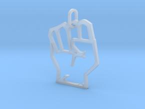 Avengers Hand Logo Pendant in Smooth Fine Detail Plastic