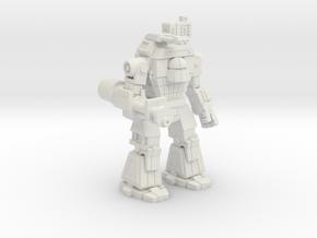 Behemoth in White Natural Versatile Plastic