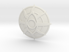 Inquisition Insignia in White Strong & Flexible: Extra Small