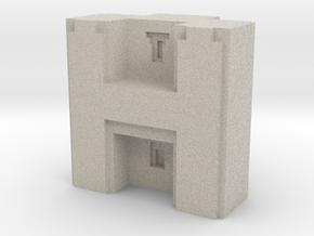 Puma Punku H-block 4,0cm in Natural Sandstone