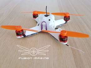 Canopy (1mm) for Fusion Micro FPV Frame in White Strong & Flexible Polished