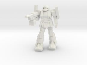 'Pug' A1A - Pugnator in White Strong & Flexible