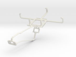 Controller mount for Xbox One Chat & Celkon Millen in White Natural Versatile Plastic