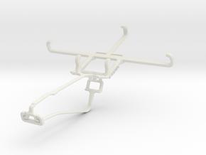 Controller mount for Xbox One Chat & Icemobile Pri in White Natural Versatile Plastic