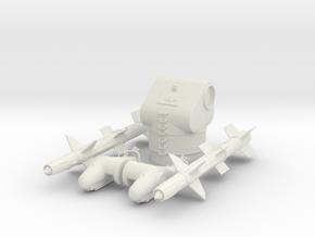 Best Cost 1/72 MK12 (GMLS) RIM-8 TALOS missiles in White Natural Versatile Plastic