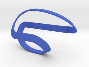 Wrapped Chanukia/Menorah in Blue Processed Versatile Plastic