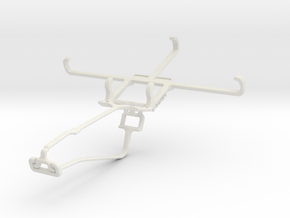 Controller mount for Xbox One Chat & ZTE Open L in White Natural Versatile Plastic