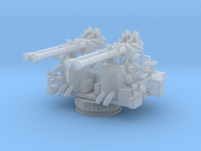 1/192 40mm Quad Bofors Mount in Smooth Fine Detail Plastic