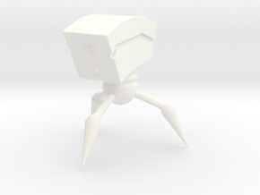 Personal Desk Robot in White Strong & Flexible Polished