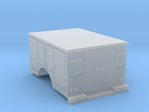 Tool Box Truck Bed 1-87 HO Scale in Smooth Fine Detail Plastic