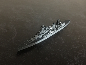 Cruiser Admiral Senyavin (1971), 1/1800 in White Natural Versatile Plastic