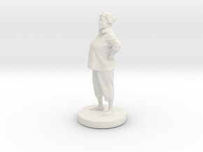 Printle C Femme 027- 1/56 in White Strong & Flexible