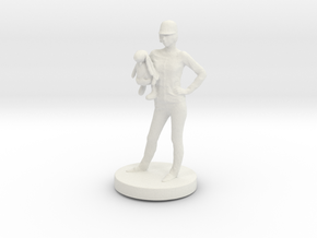 Printle C Femme 034- 1/43 in White Strong & Flexible