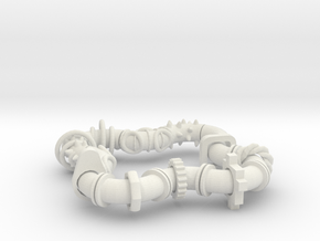 Twisting Links Fidget - Ultimate Mix (arr 2) in White Strong & Flexible