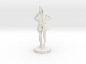 Printle C Femme 035- 1/56 in White Strong & Flexible