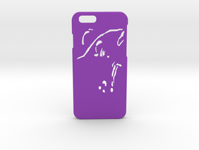 RUM DESIGNS- iPhone 6/6S Case in Purple Strong & Flexible Polished