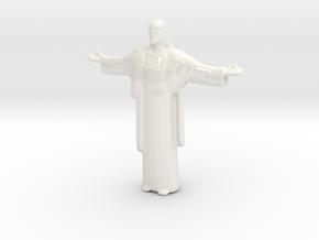 Cristo-redentor Large in Gloss White Porcelain