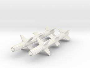 1/72 RIM-8 Talos missiles in White Natural Versatile Plastic