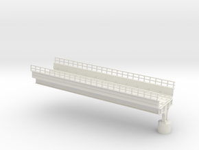 MARKET EL RAMP PT1 HO SCALE in White Natural Versatile Plastic