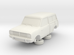 1-76 Austin 74 Estate in White Natural Versatile Plastic