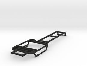 Rear lights protector left with ladder D110 TRC in Black Natural Versatile Plastic