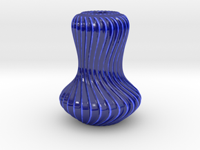 Vase AAV in Gloss Cobalt Blue Porcelain
