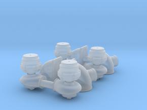 1/25 2 InchTurbo Waste Gates (2 Pair) in Smoothest Fine Detail Plastic