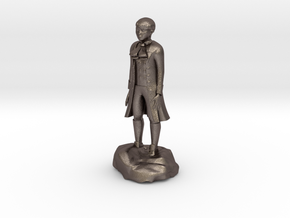 Billy, the demonic kid, in aristocrat attire. in Polished Bronzed Silver Steel