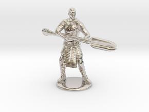Jaffa  Attack Pose - 35mm  in Platinum