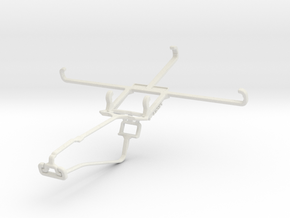 Controller mount for Xbox One Chat & Gigabyte GSma in White Natural Versatile Plastic