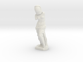Venus De Space in White Natural Versatile Plastic