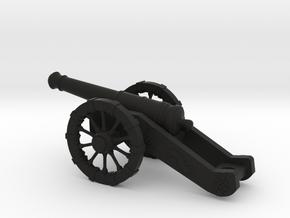 Cannon in Black Natural Versatile Plastic: Large