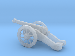 Cannon in Smooth Fine Detail Plastic: Small