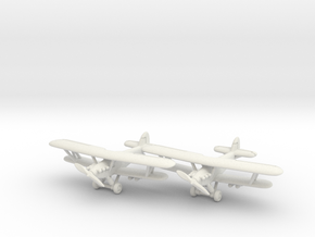 Hawker Hind (two airplanes set) 1/285 6mm in White Natural Versatile Plastic