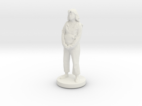 Printle C Femme 061- 1/56 in White Strong & Flexible