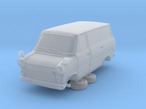 1-76 Ford Transit Mk1 Short Base Van Side Door in Smooth Fine Detail Plastic