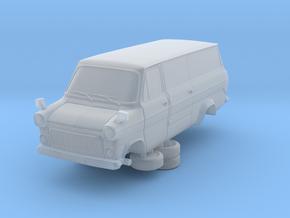 1-64 Ford Transit Mk1 Long Base Van Side Door in Smooth Fine Detail Plastic
