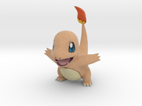 Charmander RAWR Miniature in Full Color Sandstone: Large