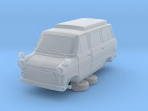 1-64 Ford Transit Mk1 Short Base Camper Van in Smooth Fine Detail Plastic