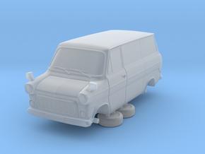 1-64 Ford Transit Mk1 Short Base Van in Smooth Fine Detail Plastic