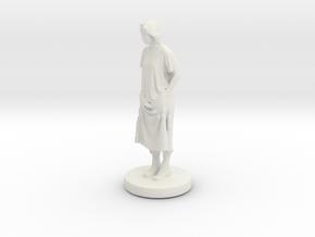 Printle C Femme 065- 1/64 in White Natural Versatile Plastic