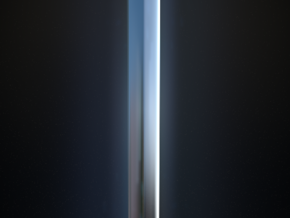 Excalibur Sword in Fine Detail Polished Silver