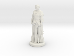 Printle C Femme 072- 1/43 in White Strong & Flexible