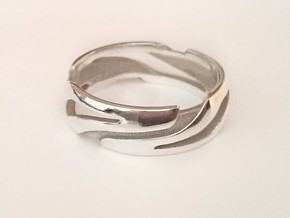 Bague-Ring Xéno in Polished Silver: 10.5 / 62.75